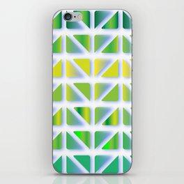 Geometric Forest iPhone Skin
