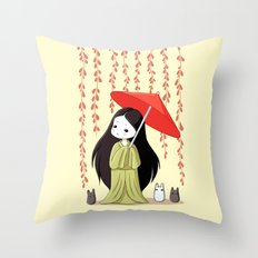 Little Friends Throw Pillow