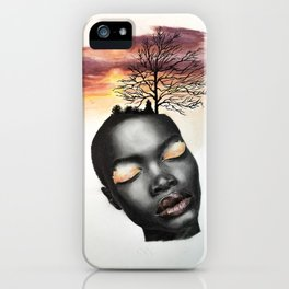 Serenity: At One With Nature iPhone Case