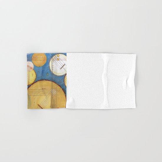 doodling banjos Hand & Bath Towel