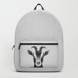 Goat - Black & White Backpack