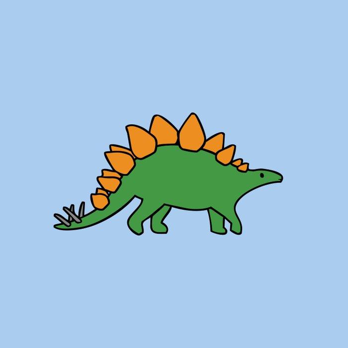 Cute Stegosaurus Comforters