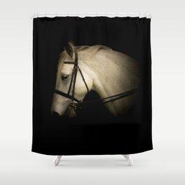 White Spirit Shower Curtain