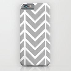 GRAY THIN CHEVRON iPhone 6s Slim Case