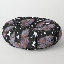 Super Cute Kawaii Bats and Stars Pattern Floor Pillow