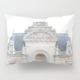 French Building City Of Lille France Photo | Parisian Architecture Art Print | Travel Photography Pillow Sham