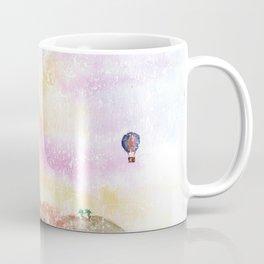 Mystical Landscape Watercolor. Coffee Mug