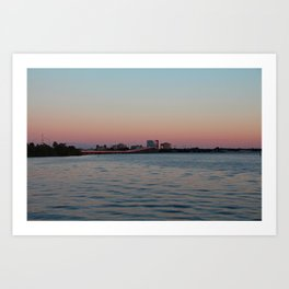 A View Across the Caloosahatchee Art Print