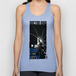 Doctor Who - 12th an his guitar Unisex Tank Top