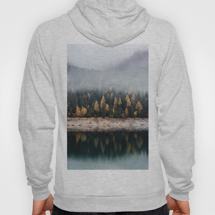 Misty Autumn Forest Hoody