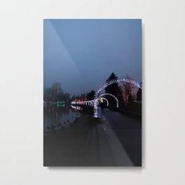 Arches to Christmas Metal Print