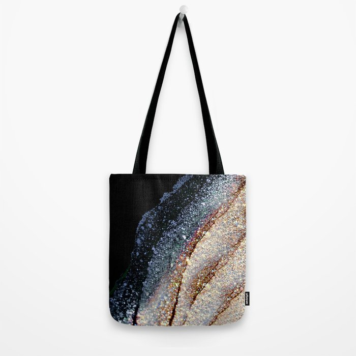 FLAWLESS GREY & GOLD Tote Bag