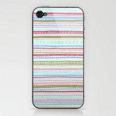 Reddish Pattern iPhone & iPod Skin