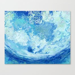 Water ceilling Canvas Print