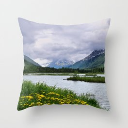 God's_Country - III Throw Pillow