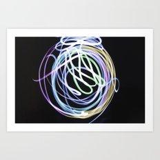 Illuminate the Paint Art Print
