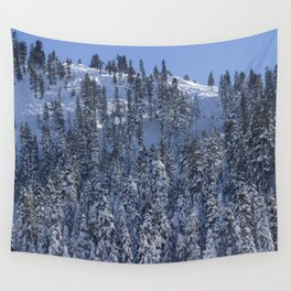Snowy Mountain Wall Tapestry