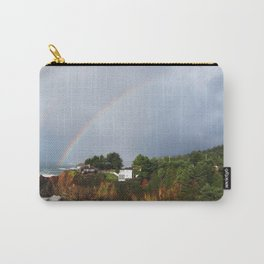 Rainbow in Mendocino County Carry-All Pouch