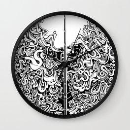 meridial nodes Wall Clock