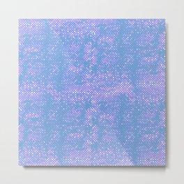 Candy Mosaic Metal Print