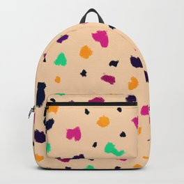 Terrazzo from brush strokes 2 Backpack