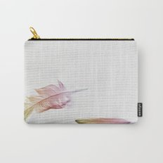 Bright as a Feather Carry-All Pouch