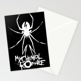 my chemical spider romance 2020 agustus Stationery Cards