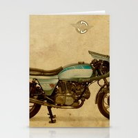 ducati Stationery Cards featuring Ducati 900SS Darmah 1979 by Larsson Stevensem