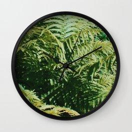 Fern'd Gully Wall Clock