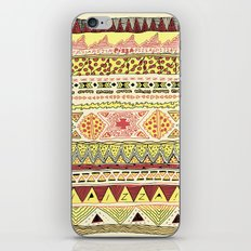 Pizza Pattern iPhone Skin