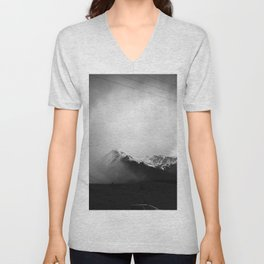 Faded Days At The Top Of The World Unisex V-Neck