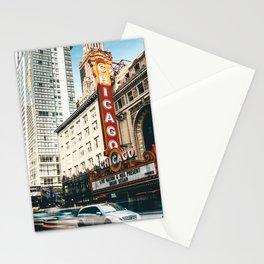 chicago strret Stationery Cards