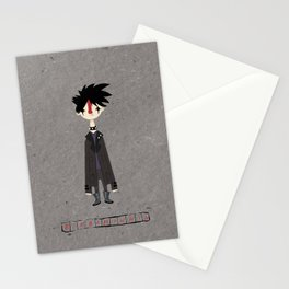 """Bimbiminkia"" - Dark Stationery Cards"