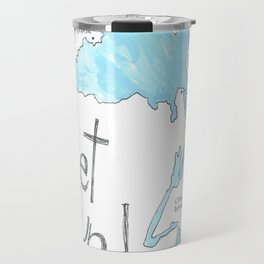 Puget Sound by Seattle Artist Mary Klump Travel Mug