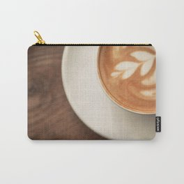 Warm artisanal Cappuccino for a Morning Sunday breakfast Carry-All Pouch