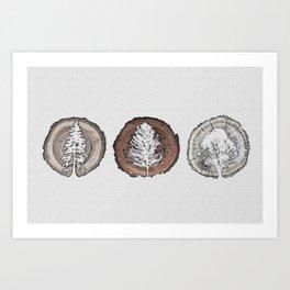Tree Print Art Print