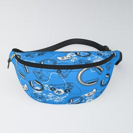 Gamers-Blue Fanny Pack