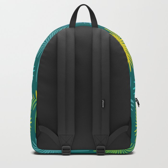 Retro Spring Nature Print II Backpack