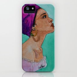 Woman I iPhone Case