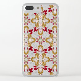 Mirror of Autumn (Dove Grey) Clear iPhone Case