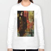 acid Long Sleeve T-shirts featuring Acid rain by Joe Ganech