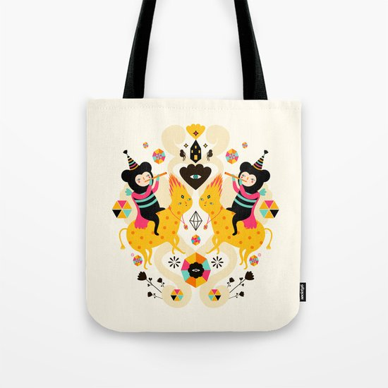 Music is happiness Tote Bag