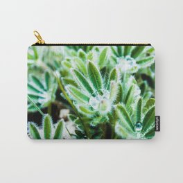 Lupine Leaves Photography Print Carry-All Pouch