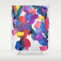 bridge Shower Curtains featuring Bridge by Georgiana Paraschiv
