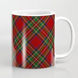 The Royal Stewart Tartan Stuart Clan Plaid Tartan Coffee Mug