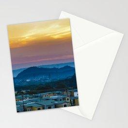 Twiglight Landscape Scene Guayaquil, Ecuador Stationery Cards