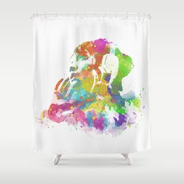 Year Of The Rain Shower Curtain