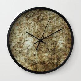 Ground Level Wall Clock