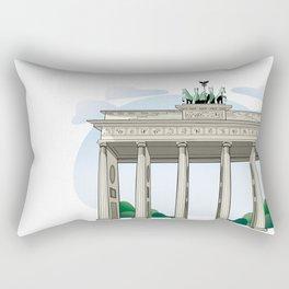 Brandenburg Gate in Berlin Rectangular Pillow