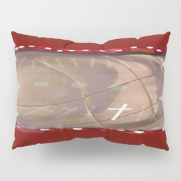 Cross and red Pillow Sham